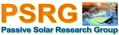 Passive Solar Research Group